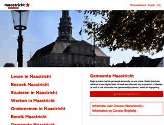 maastrichtportal.nl screenshot