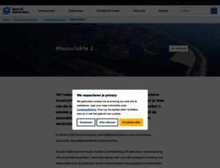 maasvlakte2.com screenshot