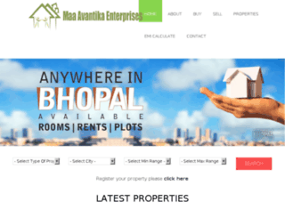 maavantikaproperty.com screenshot