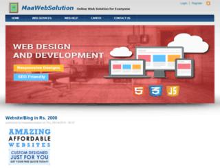 maawebsolution.com screenshot
