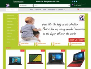 maazone.com screenshot