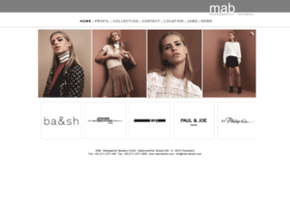 mab-fashion.com screenshot