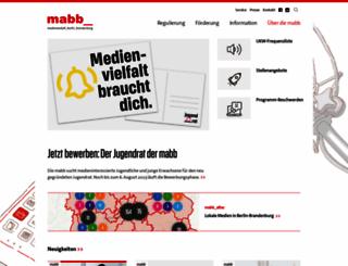 mabb.de screenshot