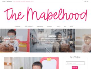 mabelhood.com screenshot