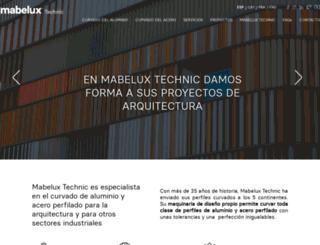 mabeluxtechnic.com screenshot