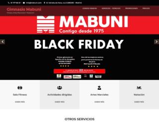 mabuni.com screenshot