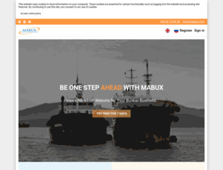 mabux.com screenshot