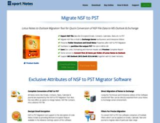 mac-contacts-to-excel.migratensftopst.com screenshot