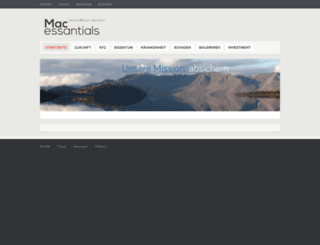 mac-essentials.de screenshot