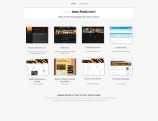 mac-host.com screenshot