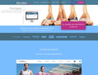 macadamtonic.com screenshot
