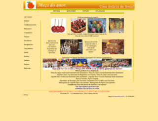 macadoamor.net.br screenshot