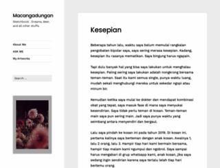 macangadungan.com screenshot