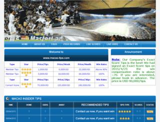 macao-tips.com screenshot