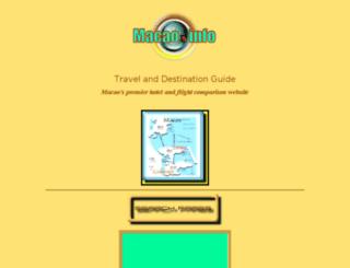macao.info screenshot