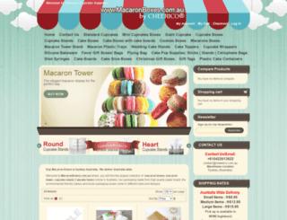 macaronboxes.com.au screenshot
