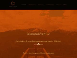 macaronvanille.ch screenshot