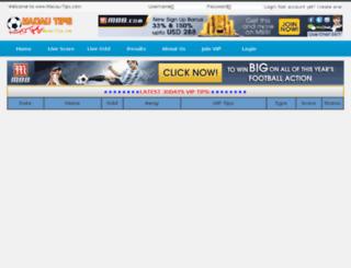 macau-tips.com screenshot