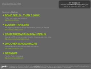 macaumacau.com screenshot