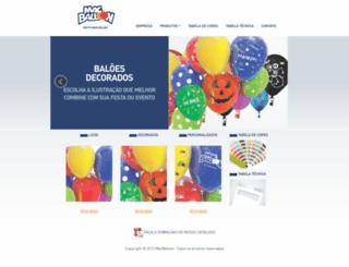 macballoon.com.br screenshot
