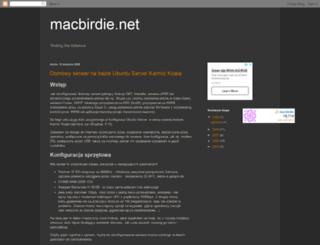 macbirdie.blogspot.com screenshot