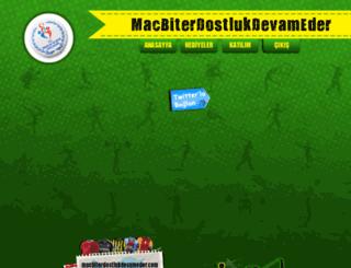 macbiterdostlukdevameder.com screenshot