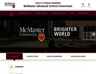 macc.mcmaster.ca screenshot
