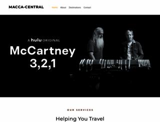 macca-central.com screenshot