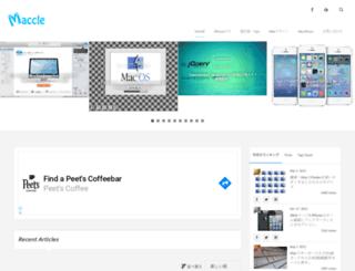 maccle.com screenshot