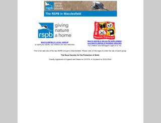 macclesfieldrspb.org.uk screenshot