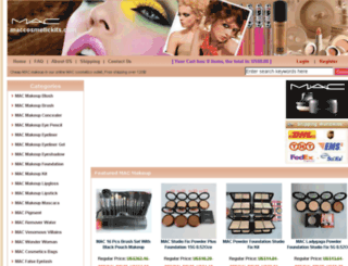 maccosmetickits.com screenshot