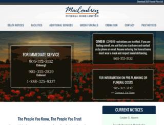 maccoubrey.com screenshot