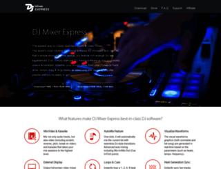 macdjmixer.com screenshot