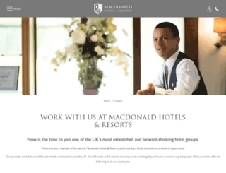 macdonald-careers.co.uk screenshot