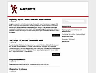macdrifter.com screenshot