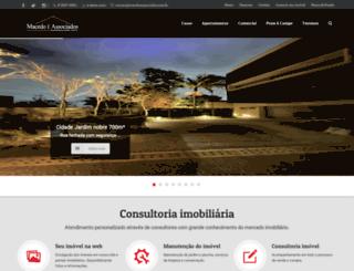 macedoeassociados.com.br screenshot