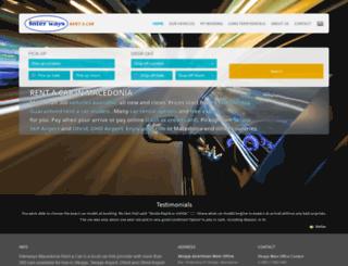 macedoniarentacar.com.mk screenshot