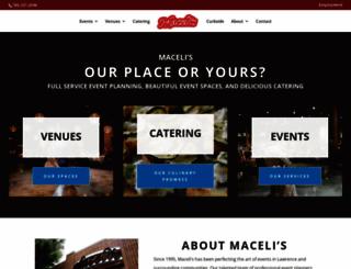 macelis.com screenshot