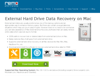 macexternaldriverecovery.com screenshot