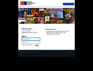 macfad.sendmyad.com screenshot