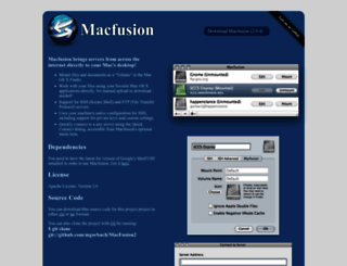macfusionapp.org screenshot