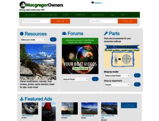 macgregor.sailboatowners.com screenshot