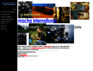 macha.com screenshot