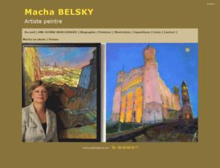 machabelsky.com screenshot