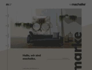 machalke.com screenshot