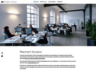 machart-studios.de screenshot