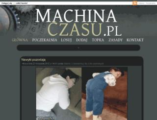 machinaczasu.pl screenshot