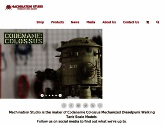 machinationstudio.com screenshot