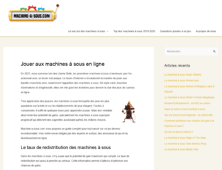machine-a-sous.com screenshot