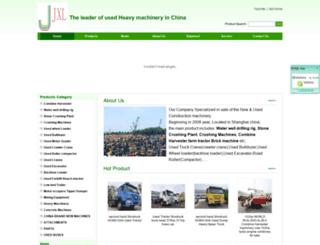 machineryafrican.com screenshot